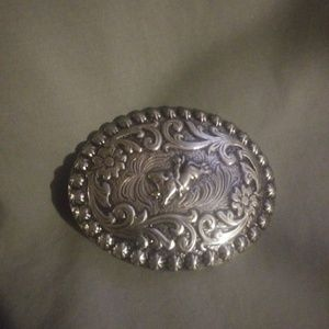 Other - BRAND NEW. Cowboy Kids Belt Buckle. Silver.
